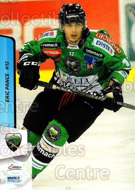 2013-14 Erste Bank Eishockey Liga EBEL #278 Eric Pance<br/>2 In Stock - $2.00 each - <a href=https://centericecollectibles.foxycart.com/cart?name=2013-14%20Erste%20Bank%20Eishockey%20Liga%20EBEL%20%23278%20Eric%20Pance...&quantity_max=2&price=$2.00&code=614223 class=foxycart> Buy it now! </a>