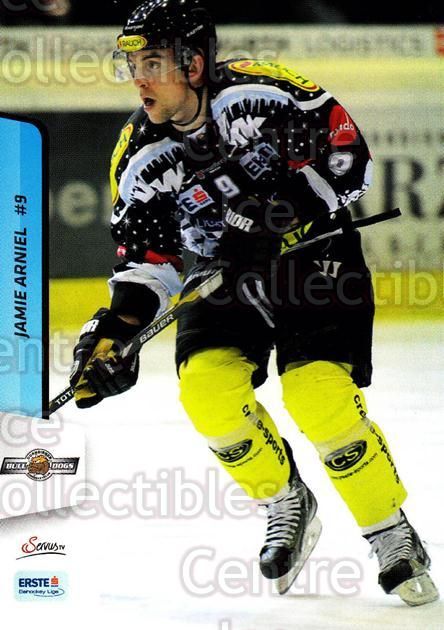 2013-14 Erste Bank Eishockey Liga EBEL #284 Jamie Arniel<br/>2 In Stock - $2.00 each - <a href=https://centericecollectibles.foxycart.com/cart?name=2013-14%20Erste%20Bank%20Eishockey%20Liga%20EBEL%20%23284%20Jamie%20Arniel...&quantity_max=2&price=$2.00&code=614229 class=foxycart> Buy it now! </a>