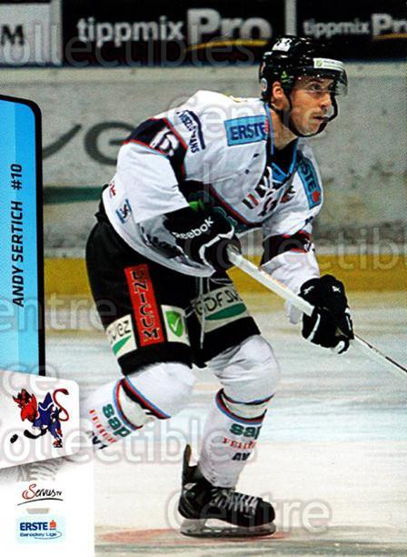 2013-14 Erste Bank Eishockey Liga EBEL #285 Andy Sertich<br/>1 In Stock - $2.00 each - <a href=https://centericecollectibles.foxycart.com/cart?name=2013-14%20Erste%20Bank%20Eishockey%20Liga%20EBEL%20%23285%20Andy%20Sertich...&quantity_max=1&price=$2.00&code=614230 class=foxycart> Buy it now! </a>