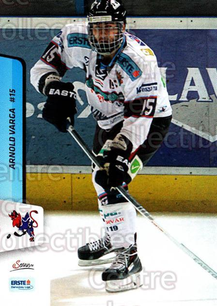 2013-14 Erste Bank Eishockey Liga EBEL #286 Arnold Varga<br/>5 In Stock - $2.00 each - <a href=https://centericecollectibles.foxycart.com/cart?name=2013-14%20Erste%20Bank%20Eishockey%20Liga%20EBEL%20%23286%20Arnold%20Varga...&quantity_max=5&price=$2.00&code=614231 class=foxycart> Buy it now! </a>