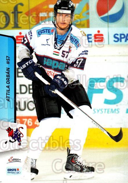 2013-14 Erste Bank Eishockey Liga EBEL #289 Attila Orban<br/>5 In Stock - $2.00 each - <a href=https://centericecollectibles.foxycart.com/cart?name=2013-14%20Erste%20Bank%20Eishockey%20Liga%20EBEL%20%23289%20Attila%20Orban...&quantity_max=5&price=$2.00&code=614234 class=foxycart> Buy it now! </a>