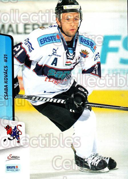 2013-14 Erste Bank Eishockey Liga EBEL #290 Csaba Kovacs<br/>4 In Stock - $2.00 each - <a href=https://centericecollectibles.foxycart.com/cart?name=2013-14%20Erste%20Bank%20Eishockey%20Liga%20EBEL%20%23290%20Csaba%20Kovacs...&quantity_max=4&price=$2.00&code=614235 class=foxycart> Buy it now! </a>