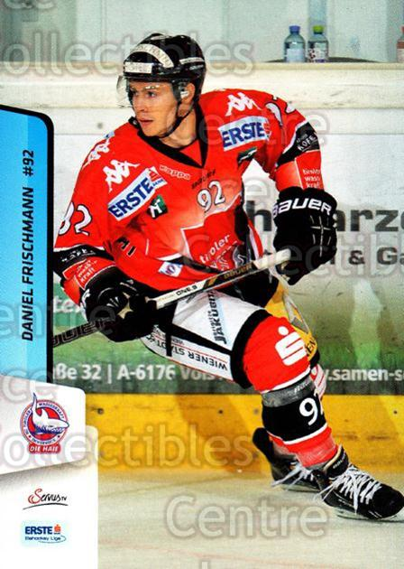 2013-14 Erste Bank Eishockey Liga EBEL #297 Daniel Fischmann<br/>5 In Stock - $2.00 each - <a href=https://centericecollectibles.foxycart.com/cart?name=2013-14%20Erste%20Bank%20Eishockey%20Liga%20EBEL%20%23297%20Daniel%20Fischman...&quantity_max=5&price=$2.00&code=614242 class=foxycart> Buy it now! </a>