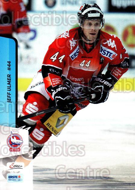 2013-14 Erste Bank Eishockey Liga EBEL #298 Jeff Ulmer<br/>1 In Stock - $2.00 each - <a href=https://centericecollectibles.foxycart.com/cart?name=2013-14%20Erste%20Bank%20Eishockey%20Liga%20EBEL%20%23298%20Jeff%20Ulmer...&quantity_max=1&price=$2.00&code=614243 class=foxycart> Buy it now! </a>