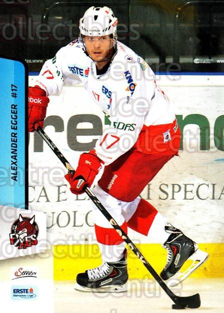 2013-14 Erste Bank Eishockey Liga EBEL #299 Alexander Egger<br/>1 In Stock - $2.00 each - <a href=https://centericecollectibles.foxycart.com/cart?name=2013-14%20Erste%20Bank%20Eishockey%20Liga%20EBEL%20%23299%20Alexander%20Egger...&quantity_max=1&price=$2.00&code=614244 class=foxycart> Buy it now! </a>