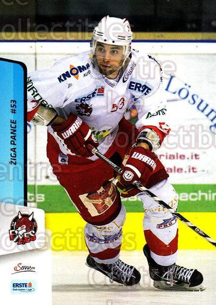 2013-14 Erste Bank Eishockey Liga EBEL #301 Ziga Pance<br/>5 In Stock - $2.00 each - <a href=https://centericecollectibles.foxycart.com/cart?name=2013-14%20Erste%20Bank%20Eishockey%20Liga%20EBEL%20%23301%20Ziga%20Pance...&quantity_max=5&price=$2.00&code=614246 class=foxycart> Buy it now! </a>