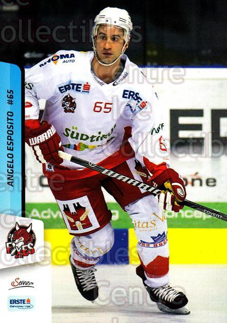 2013-14 Erste Bank Eishockey Liga EBEL #302 Angelo Esposito<br/>3 In Stock - $2.00 each - <a href=https://centericecollectibles.foxycart.com/cart?name=2013-14%20Erste%20Bank%20Eishockey%20Liga%20EBEL%20%23302%20Angelo%20Esposito...&quantity_max=3&price=$2.00&code=614247 class=foxycart> Buy it now! </a>