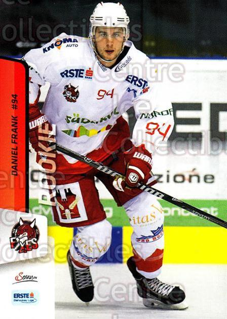 2013-14 Erste Bank Eishockey Liga EBEL #304 Daniel Frank<br/>3 In Stock - $2.00 each - <a href=https://centericecollectibles.foxycart.com/cart?name=2013-14%20Erste%20Bank%20Eishockey%20Liga%20EBEL%20%23304%20Daniel%20Frank...&quantity_max=3&price=$2.00&code=614249 class=foxycart> Buy it now! </a>