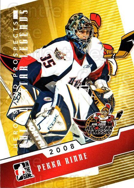 2009-10 ITG Heroes and Prospects AHL All Star Legends #6 Pekka Rinne<br/>2 In Stock - $3.00 each - <a href=https://centericecollectibles.foxycart.com/cart?name=2009-10%20ITG%20Heroes%20and%20Prospects%20AHL%20All%20Star%20Legends%20%236%20Pekka%20Rinne...&quantity_max=2&price=$3.00&code=614727 class=foxycart> Buy it now! </a>