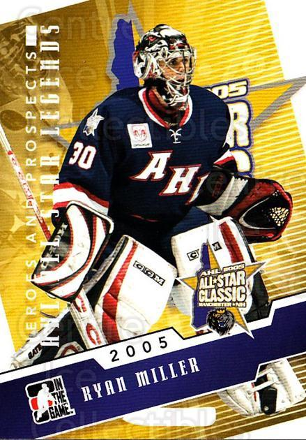 2009-10 ITG Heroes and Prospects AHL All Star Legends #12 Ryan Miller<br/>1 In Stock - $3.00 each - <a href=https://centericecollectibles.foxycart.com/cart?name=2009-10%20ITG%20Heroes%20and%20Prospects%20AHL%20All%20Star%20Legends%20%2312%20Ryan%20Miller...&quantity_max=1&price=$3.00&code=614733 class=foxycart> Buy it now! </a>