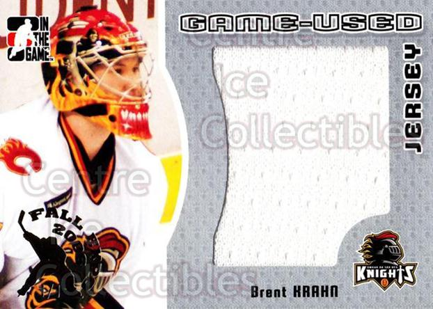 2005-06 ITG Heroes and Prospects Jersey Silver Fall Expo /1 #88 Brent Krahn<br/>1 In Stock - $15.00 each - <a href=https://centericecollectibles.foxycart.com/cart?name=2005-06%20ITG%20Heroes%20and%20Prospects%20Jersey%20Silver%20Fall%20Expo%20/1%20%2388%20Brent%20Krahn...&quantity_max=1&price=$15.00&code=615942 class=foxycart> Buy it now! </a>