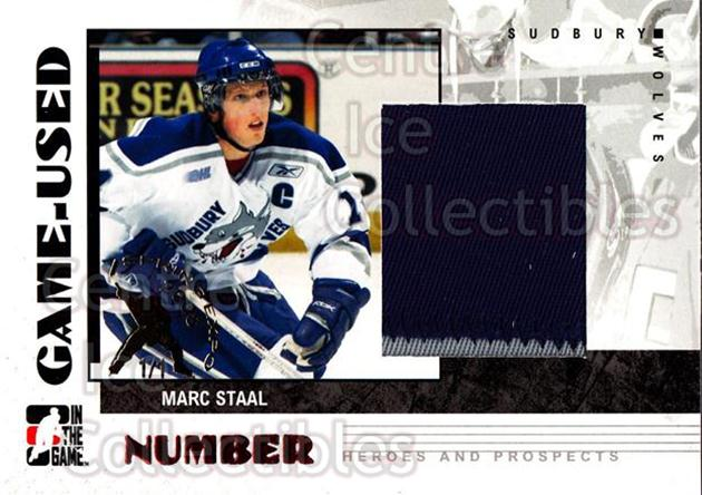 2007-08 ITG Heroes and Prospects Number Spring Expo /1 #9 Marc Staal<br/>1 In Stock - $15.00 each - <a href=https://centericecollectibles.foxycart.com/cart?name=2007-08%20ITG%20Heroes%20and%20Prospects%20Number%20Spring%20Expo%20/1%20%239%20Marc%20Staal...&quantity_max=1&price=$15.00&code=616456 class=foxycart> Buy it now! </a>