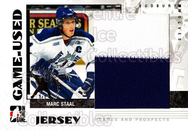 2007-08 ITG Heroes and Prospects Jersey Spring Expo /1 #9 Marc Staal<br/>1 In Stock - $15.00 each - <a href=https://centericecollectibles.foxycart.com/cart?name=2007-08%20ITG%20Heroes%20and%20Prospects%20Jersey%20Spring%20Expo%20/1%20%239%20Marc%20Staal...&quantity_max=1&price=$15.00&code=616569 class=foxycart> Buy it now! </a>