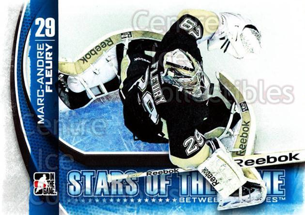 2013-14 Between the Pipes #11 Marc-Andre Fleury<br/>12 In Stock - $2.00 each - <a href=https://centericecollectibles.foxycart.com/cart?name=2013-14%20Between%20the%20Pipes%20%2311%20Marc-Andre%20Fleu...&quantity_max=12&price=$2.00&code=617712 class=foxycart> Buy it now! </a>