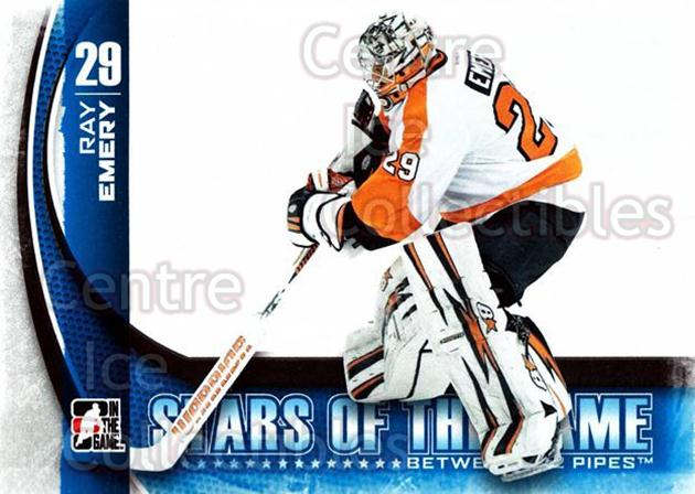 2013-14 Between the Pipes #14 Ray Emery<br/>11 In Stock - $1.00 each - <a href=https://centericecollectibles.foxycart.com/cart?name=2013-14%20Between%20the%20Pipes%20%2314%20Ray%20Emery...&quantity_max=11&price=$1.00&code=617715 class=foxycart> Buy it now! </a>