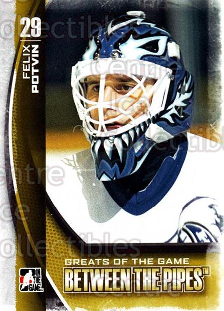 2013-14 Between the Pipes #106 Felix Potvin<br/>11 In Stock - $1.00 each - <a href=https://centericecollectibles.foxycart.com/cart?name=2013-14%20Between%20the%20Pipes%20%23106%20Felix%20Potvin...&quantity_max=11&price=$1.00&code=617807 class=foxycart> Buy it now! </a>