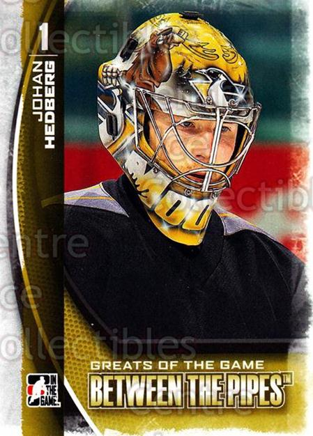 2013-14 Between the Pipes #118 Johan Hedberg<br/>12 In Stock - $1.00 each - <a href=https://centericecollectibles.foxycart.com/cart?name=2013-14%20Between%20the%20Pipes%20%23118%20Johan%20Hedberg...&quantity_max=12&price=$1.00&code=617819 class=foxycart> Buy it now! </a>