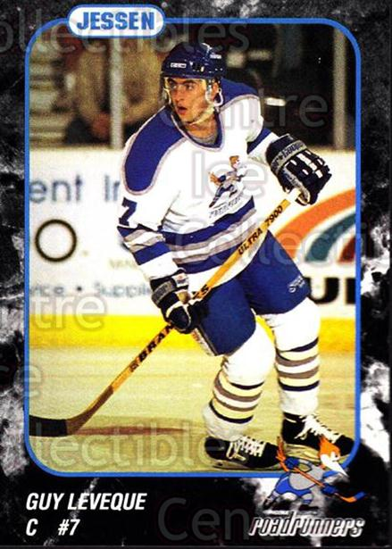 1993-94 Phoenix Roadrunners #14 Guy Leveque<br/>7 In Stock - $3.00 each - <a href=https://centericecollectibles.foxycart.com/cart?name=1993-94%20Phoenix%20Roadrunners%20%2314%20Guy%20Leveque...&quantity_max=7&price=$3.00&code=6178 class=foxycart> Buy it now! </a>