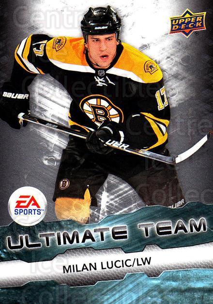 2011-12 Upper Deck EA Ultimate Team #8 Milan Lucic<br/>1 In Stock - $3.00 each - <a href=https://centericecollectibles.foxycart.com/cart?name=2011-12%20Upper%20Deck%20EA%20Ultimate%20Team%20%238%20Milan%20Lucic...&quantity_max=1&price=$3.00&code=619871 class=foxycart> Buy it now! </a>