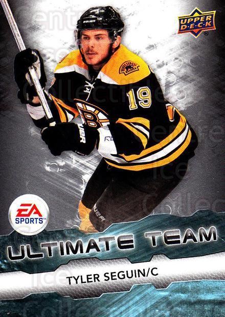 2011-12 Upper Deck EA Ultimate Team #10 Tyler Seguin<br/>1 In Stock - $3.00 each - <a href=https://centericecollectibles.foxycart.com/cart?name=2011-12%20Upper%20Deck%20EA%20Ultimate%20Team%20%2310%20Tyler%20Seguin...&quantity_max=1&price=$3.00&code=619873 class=foxycart> Buy it now! </a>
