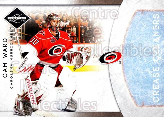 2011-12 Limited Crease Cleaners #2 Cam Ward<br/>1 In Stock - $5.00 each - <a href=https://centericecollectibles.foxycart.com/cart?name=2011-12%20Limited%20Crease%20Cleaners%20%232%20Cam%20Ward...&price=$5.00&code=619880 class=foxycart> Buy it now! </a>