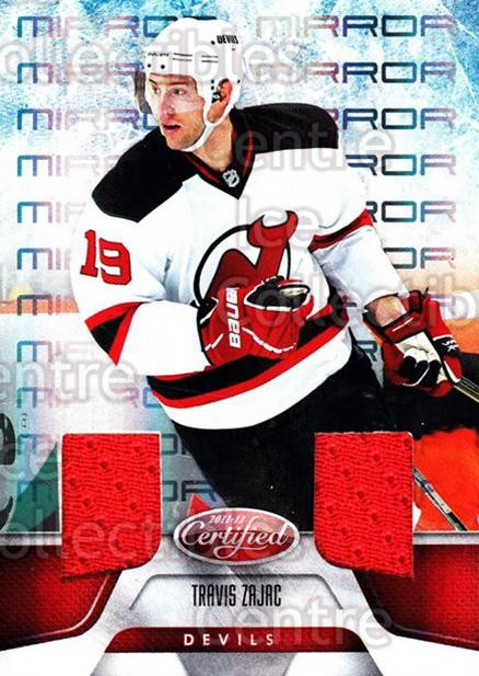 2011-12 Certified Mirror Red Materials #66 Travis Zajac<br/>1 In Stock - $5.00 each - <a href=https://centericecollectibles.foxycart.com/cart?name=2011-12%20Certified%20Mirror%20Red%20Materials%20%2366%20Travis%20Zajac...&quantity_max=1&price=$5.00&code=621220 class=foxycart> Buy it now! </a>