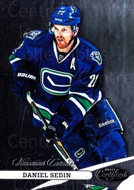 2012-13 Certified #22 Daniel Sedin<br/>1 In Stock - $1.00 each - <a href=https://centericecollectibles.foxycart.com/cart?name=2012-13%20Certified%20%2322%20Daniel%20Sedin...&price=$1.00&code=621645 class=foxycart> Buy it now! </a>