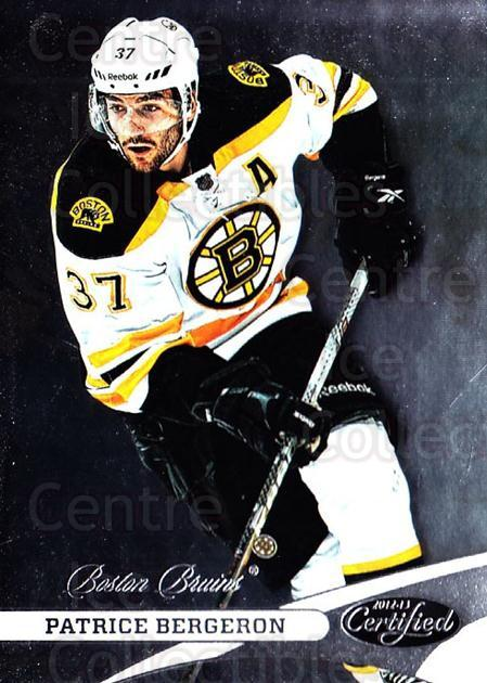 2012-13 Certified #37 Patrice Bergeron<br/>1 In Stock - $2.00 each - <a href=https://centericecollectibles.foxycart.com/cart?name=2012-13%20Certified%20%2337%20Patrice%20Bergero...&quantity_max=1&price=$2.00&code=621660 class=foxycart> Buy it now! </a>