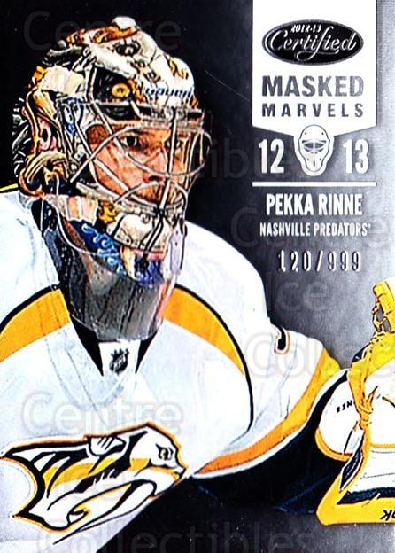 2012-13 Certified #103 Pekka Rinne<br/>1 In Stock - $5.00 each - <a href=https://centericecollectibles.foxycart.com/cart?name=2012-13%20Certified%20%23103%20Pekka%20Rinne...&quantity_max=1&price=$5.00&code=621726 class=foxycart> Buy it now! </a>