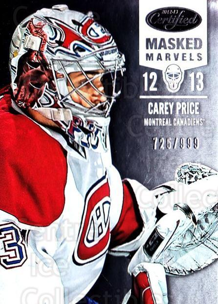 2012-13 Certified #112 Carey Price<br/>1 In Stock - $10.00 each - <a href=https://centericecollectibles.foxycart.com/cart?name=2012-13%20Certified%20%23112%20Carey%20Price...&quantity_max=1&price=$10.00&code=621735 class=foxycart> Buy it now! </a>