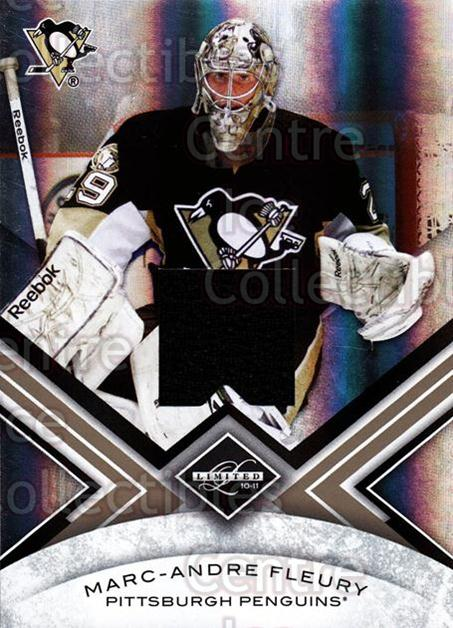 2010-11 Limited Threads #61 Marc-Andre Fleury<br/>1 In Stock - $5.00 each - <a href=https://centericecollectibles.foxycart.com/cart?name=2010-11%20Limited%20Threads%20%2361%20Marc-Andre%20Fleu...&quantity_max=1&price=$5.00&code=623256 class=foxycart> Buy it now! </a>