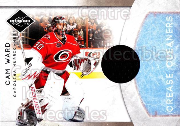 2011-12 Limited Crease Cleaners Materials #2 Cam Ward<br/>1 In Stock - $5.00 each - <a href=https://centericecollectibles.foxycart.com/cart?name=2011-12%20Limited%20Crease%20Cleaners%20Materials%20%232%20Cam%20Ward...&price=$5.00&code=623296 class=foxycart> Buy it now! </a>