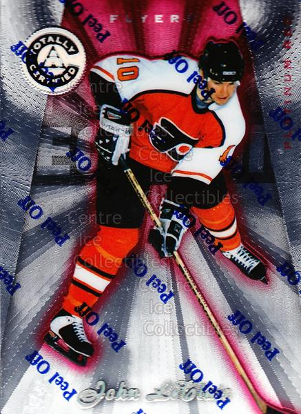 1997-98 Pinnacle Totally Certified Platinum Red #119 John LeClair<br/>4 In Stock - $2.00 each - <a href=https://centericecollectibles.foxycart.com/cart?name=1997-98%20Pinnacle%20Totally%20Certified%20Platinum%20Red%20%23119%20John%20LeClair...&quantity_max=4&price=$2.00&code=62469 class=foxycart> Buy it now! </a>