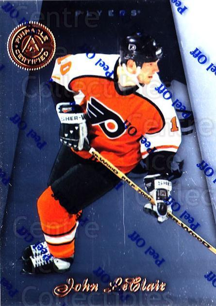 1997-98 Pinnacle Certified #119 John LeClair<br/>5 In Stock - $1.00 each - <a href=https://centericecollectibles.foxycart.com/cart?name=1997-98%20Pinnacle%20Certified%20%23119%20John%20LeClair...&quantity_max=5&price=$1.00&code=62537 class=foxycart> Buy it now! </a>