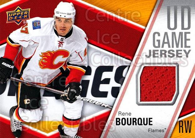 2011-12 Upper Deck Jersey Series One #GJRB Rene Bourque<br/>1 In Stock - $5.00 each - <a href=https://centericecollectibles.foxycart.com/cart?name=2011-12%20Upper%20Deck%20Jersey%20Series%20One%20%23GJRB%20Rene%20Bourque...&quantity_max=1&price=$5.00&code=625748 class=foxycart> Buy it now! </a>