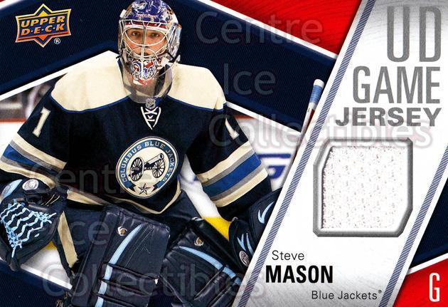 2011-12 Upper Deck Jersey Series One #GJSM Steve Mason<br/>1 In Stock - $5.00 each - <a href=https://centericecollectibles.foxycart.com/cart?name=2011-12%20Upper%20Deck%20Jersey%20Series%20One%20%23GJSM%20Steve%20Mason...&quantity_max=1&price=$5.00&code=625761 class=foxycart> Buy it now! </a>