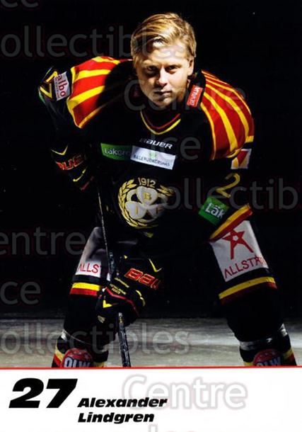 2013-14 Swedish Brynas IF Tigers Postcards #12 Alexander Lindgren<br/>2 In Stock - $3.00 each - <a href=https://centericecollectibles.foxycart.com/cart?name=2013-14%20Swedish%20Brynas%20IF%20Tigers%20Postcards%20%2312%20Alexander%20Lindg...&quantity_max=2&price=$3.00&code=626071 class=foxycart> Buy it now! </a>