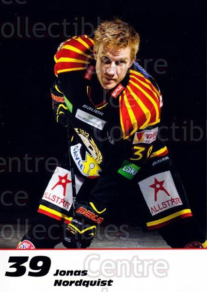 2013-14 Swedish Brynas IF Tigers Postcards #15 Jonas Nordquist<br/>2 In Stock - $3.00 each - <a href=https://centericecollectibles.foxycart.com/cart?name=2013-14%20Swedish%20Brynas%20IF%20Tigers%20Postcards%20%2315%20Jonas%20Nordquist...&quantity_max=2&price=$3.00&code=626074 class=foxycart> Buy it now! </a>