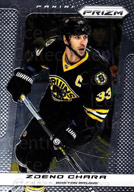 2013-14 Panini Prizm #1 Zdeno Chara<br/>3 In Stock - $1.00 each - <a href=https://centericecollectibles.foxycart.com/cart?name=2013-14%20Panini%20Prizm%20%231%20Zdeno%20Chara...&quantity_max=3&price=$1.00&code=626084 class=foxycart> Buy it now! </a>