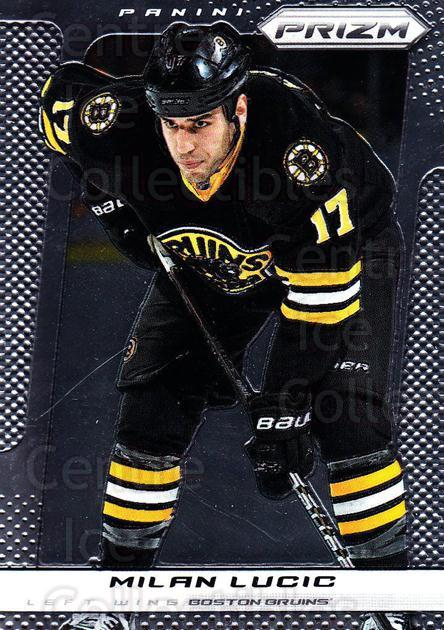 2013-14 Panini Prizm #6 Milan Lucic<br/>3 In Stock - $1.00 each - <a href=https://centericecollectibles.foxycart.com/cart?name=2013-14%20Panini%20Prizm%20%236%20Milan%20Lucic...&quantity_max=3&price=$1.00&code=626089 class=foxycart> Buy it now! </a>