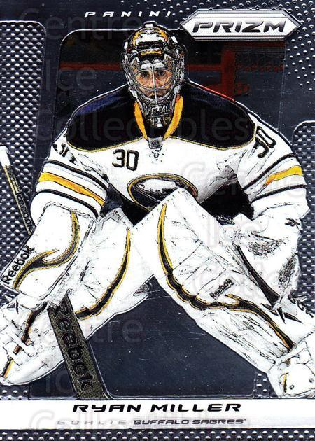 2013-14 Panini Prizm #9 Ryan Miller<br/>4 In Stock - $1.00 each - <a href=https://centericecollectibles.foxycart.com/cart?name=2013-14%20Panini%20Prizm%20%239%20Ryan%20Miller...&quantity_max=4&price=$1.00&code=626092 class=foxycart> Buy it now! </a>