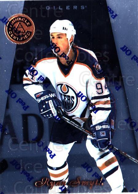 1997-98 Pinnacle Certified #79 Ryan Smyth<br/>5 In Stock - $1.00 each - <a href=https://centericecollectibles.foxycart.com/cart?name=1997-98%20Pinnacle%20Certified%20%2379%20Ryan%20Smyth...&quantity_max=5&price=$1.00&code=62610 class=foxycart> Buy it now! </a>