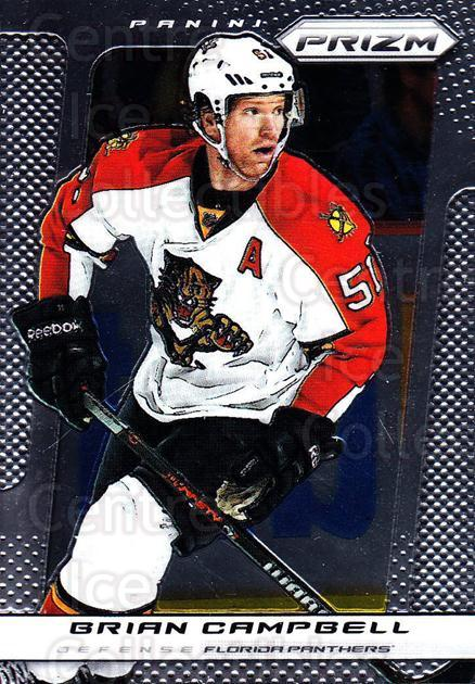 2013-14 Panini Prizm #36 Brian Campbell<br/>4 In Stock - $1.00 each - <a href=https://centericecollectibles.foxycart.com/cart?name=2013-14%20Panini%20Prizm%20%2336%20Brian%20Campbell...&quantity_max=4&price=$1.00&code=626119 class=foxycart> Buy it now! </a>