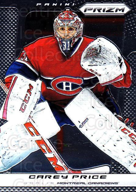 2013-14 Panini Prizm #41 Carey Price<br/>2 In Stock - $3.00 each - <a href=https://centericecollectibles.foxycart.com/cart?name=2013-14%20Panini%20Prizm%20%2341%20Carey%20Price...&price=$3.00&code=626124 class=foxycart> Buy it now! </a>