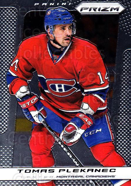 2013-14 Panini Prizm #43 Tomas Plekanec<br/>3 In Stock - $1.00 each - <a href=https://centericecollectibles.foxycart.com/cart?name=2013-14%20Panini%20Prizm%20%2343%20Tomas%20Plekanec...&quantity_max=3&price=$1.00&code=626126 class=foxycart> Buy it now! </a>
