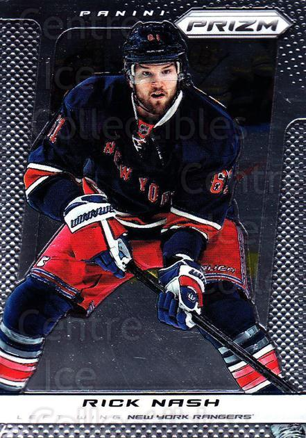 2013-14 Panini Prizm #63 Rick Nash<br/>4 In Stock - $1.00 each - <a href=https://centericecollectibles.foxycart.com/cart?name=2013-14%20Panini%20Prizm%20%2363%20Rick%20Nash...&quantity_max=4&price=$1.00&code=626146 class=foxycart> Buy it now! </a>