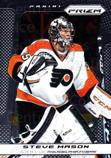 2013-14 Panini Prizm #77 Steve Mason<br/>3 In Stock - $1.00 each - <a href=https://centericecollectibles.foxycart.com/cart?name=2013-14%20Panini%20Prizm%20%2377%20Steve%20Mason...&quantity_max=3&price=$1.00&code=626160 class=foxycart> Buy it now! </a>