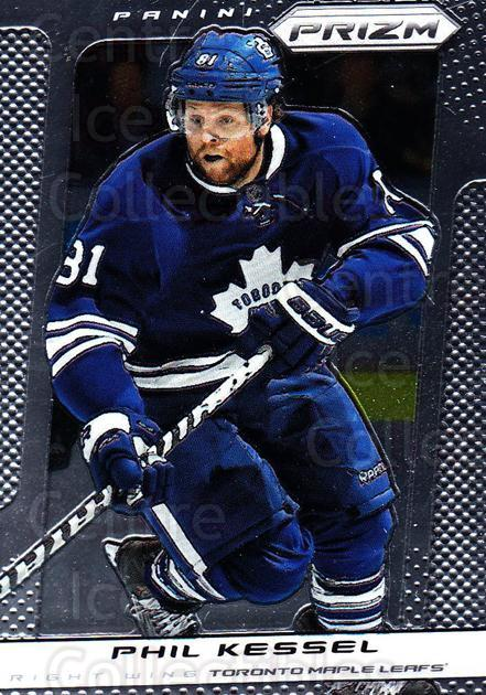 2013-14 Panini Prizm #97 Phil Kessel<br/>2 In Stock - $1.00 each - <a href=https://centericecollectibles.foxycart.com/cart?name=2013-14%20Panini%20Prizm%20%2397%20Phil%20Kessel...&quantity_max=2&price=$1.00&code=626180 class=foxycart> Buy it now! </a>