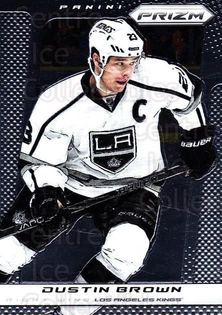 2013-14 Panini Prizm #149 Dustin Brown<br/>4 In Stock - $1.00 each - <a href=https://centericecollectibles.foxycart.com/cart?name=2013-14%20Panini%20Prizm%20%23149%20Dustin%20Brown...&quantity_max=4&price=$1.00&code=626232 class=foxycart> Buy it now! </a>