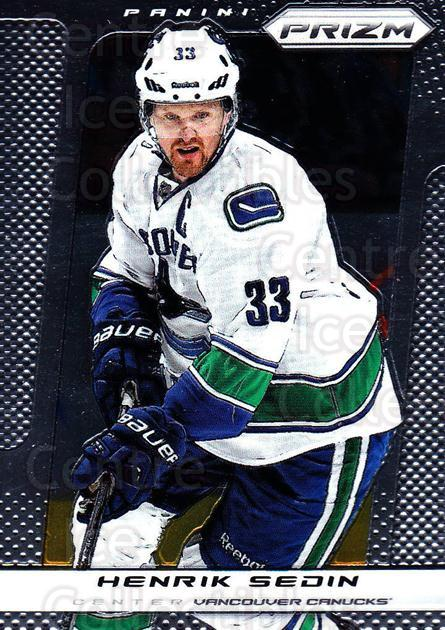 2013-14 Panini Prizm #191 Henrik Sedin<br/>4 In Stock - $1.00 each - <a href=https://centericecollectibles.foxycart.com/cart?name=2013-14%20Panini%20Prizm%20%23191%20Henrik%20Sedin...&quantity_max=4&price=$1.00&code=626274 class=foxycart> Buy it now! </a>